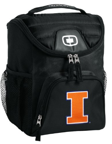 (Broad Bay University of Illinois Lunch Bag Our Best Illini Lunch Cooler)