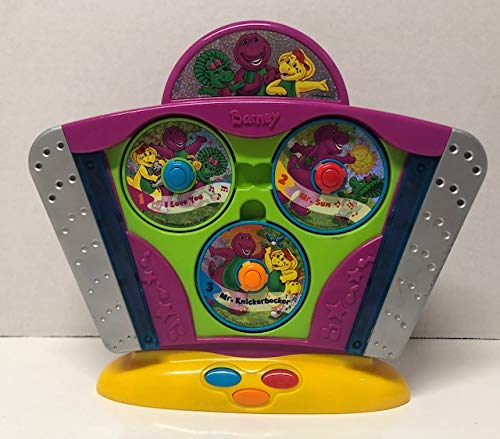 (Lyons Mattel Barney's Super Singing Top Favorites CD Player Toy with 6 Discs (2003))