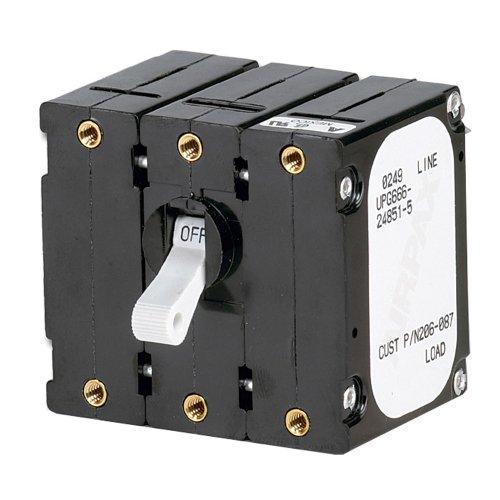 Paneltronics Breaker 30 Amps w/Reverse Polarity Trip Coil - White - White Marine Breaker