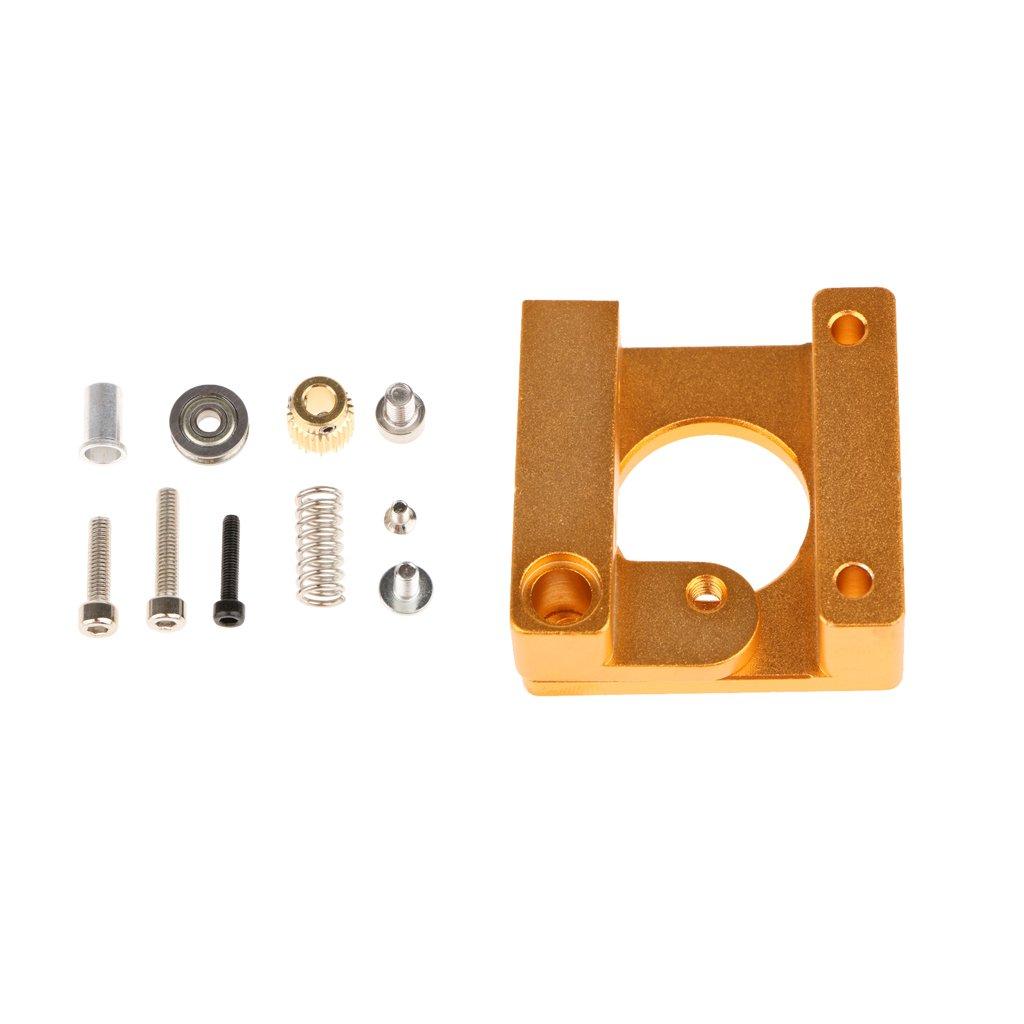 kokiya MK8 Remote Extruder Kit Alle Metall Für Makerbot Reprap 3D Drucker - Kurze Hand