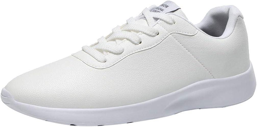 Calzado Deportivo de Exterior de Hombre Zapatillas de Deporte Hombres Zapatos de Gimnasia para Caminar de Peso Ligero Zapatillas de Running Zapatos Deportivos para Hombre: Amazon.es: Zapatos y complementos
