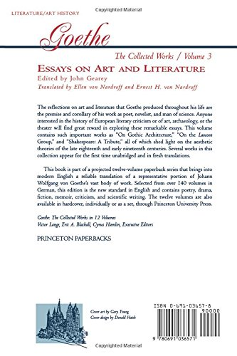Gender Equality Essay Paper Amazoncom Essays On Art And Literature Goethe The Collected Works Vol    Johann Wolfgang Von Goethe John Gearey Ellen Von  Nardroff  What Is A Thesis Of An Essay also Essay On Importance Of Good Health Amazoncom Essays On Art And Literature Goethe The Collected  Sample Essay Topics For High School