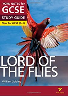 Lord Of The Flies Amazoncouk William Golding  Books Lord Of The Flies York Notes For Gcse