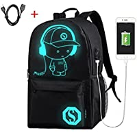 Laptop Backpack High School Backpack Anti Theft Backpack with USB Charging Port School Bookbag