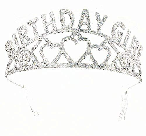 Forum Novelties Glitter Tiara Birthday Girl -
