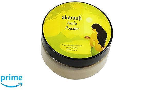 akamuti - polvo de Amla cuidado capilar, tradicional (ingredientes ayurveda - favorise la Pousse des Cabello sains - Ideal en casos de carretes - Riche en ...