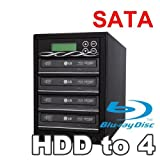 Spartan 500GB Hard Drive to 4 Target Multiple Blu