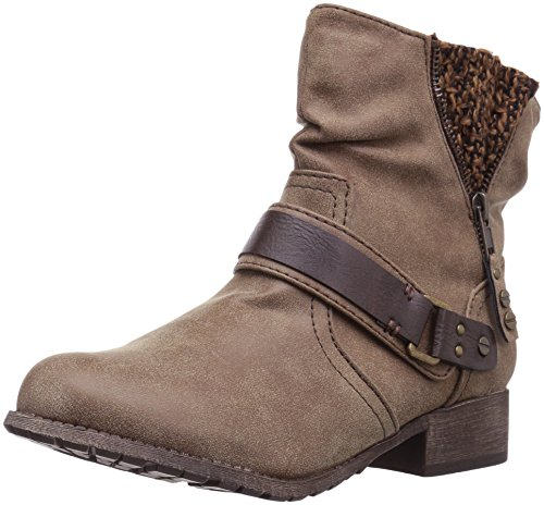 Motorcycle Smarty Jellypop Brown Distress Boot Women's a00PqwxA