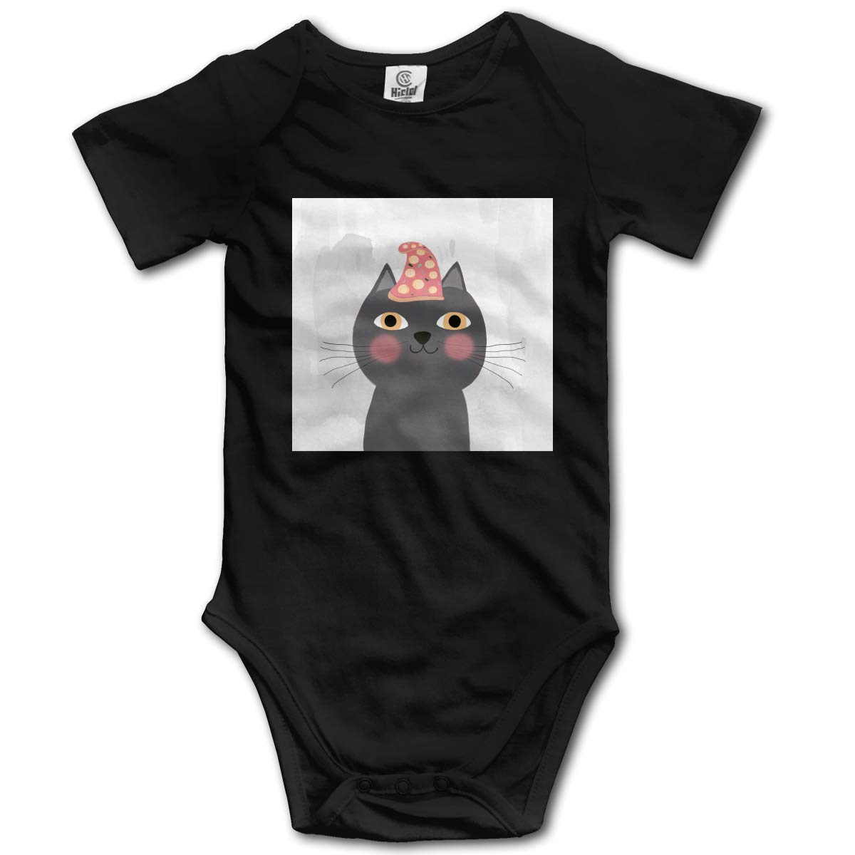 Cats Solitude It Can Be Soothing or Sorrowful Boys /& Girls Black Short Sleeve Romper Bodysuit Outfits for 0-24 Months
