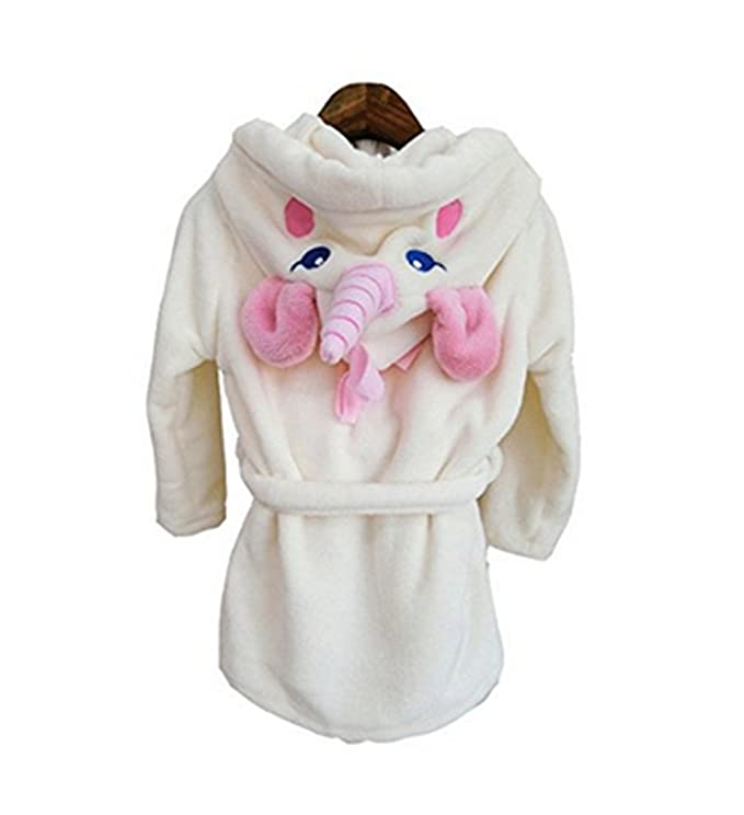 Amazon.com: Kenmont Unicorn Dressing Gown Robe With Hooded Animal Bathrobes Costume: Clothing