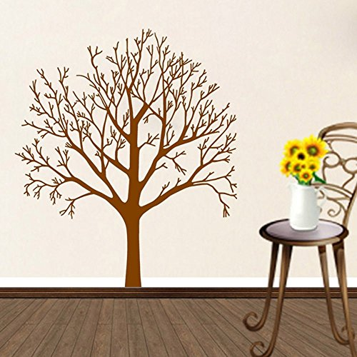 wall decal tree branch brown - 8