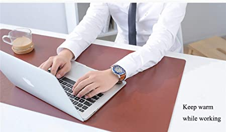 YCKZZR Mouse Pad Heating Pad Table Mat Safety Voltage 20 Second Heat Intelligent Temperature Regulation 4 Hours Automatic Power Off for Computer and Desk Writing