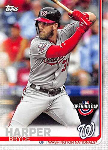 National Baseball Card - 2019 Topps Opening Day #22 Bryce Harper Washington Nationals Baseball Card