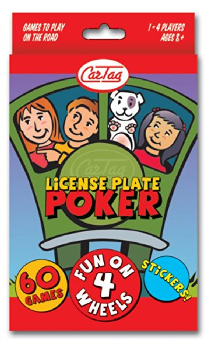 CarTag License Plate Poker Outset Media 19103 QW/_208100213
