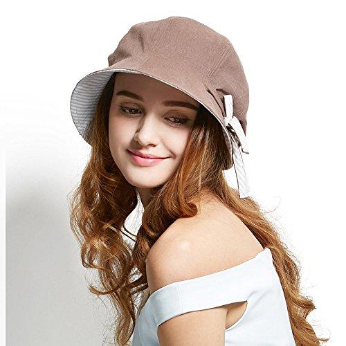 0cfd00f7 Afala Women Packable Beach Summer Hats Bucket Hats Cloche Hats, Lightweight  Foldable for Travel Vacation