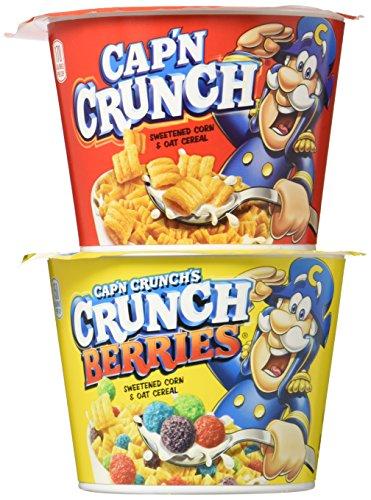 Cap'n Crunch Breakfast Cereal, Variety Pack, 12 Individual ()