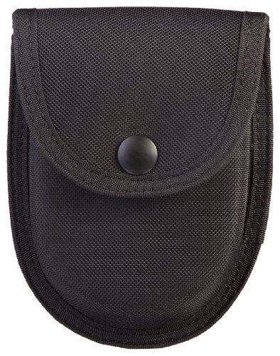 (Uncle Mike's Sentinel Molded Nylon Single Handcuff Case, Black)