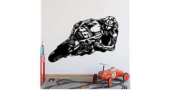 zzlfn3lv Valentino Rossi Moto GP Racing Tatuajes de Pared ...