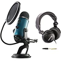 Blue Microphones Yeti Teal USB Microphone with Studio...