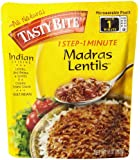 Tasty Bite Indian Entrée, Madras Lentils, 10 Ounce (Pack of 6)