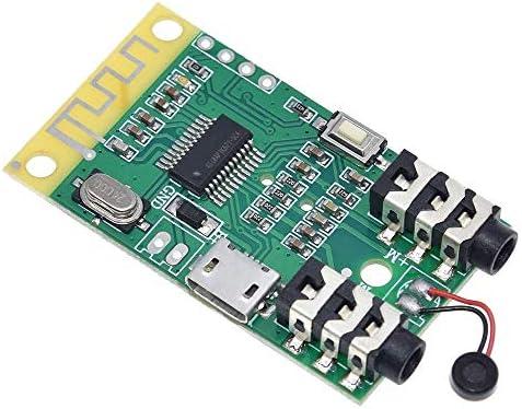 Landa tianrui DIY Electronic kit Bluetooth 4.2 Audio-Sender-Empfängerkarte 3.7V-5V 10M Entfernung MP3 Decodierung Funkmodul Lautsprecher DIY 3.5mm
