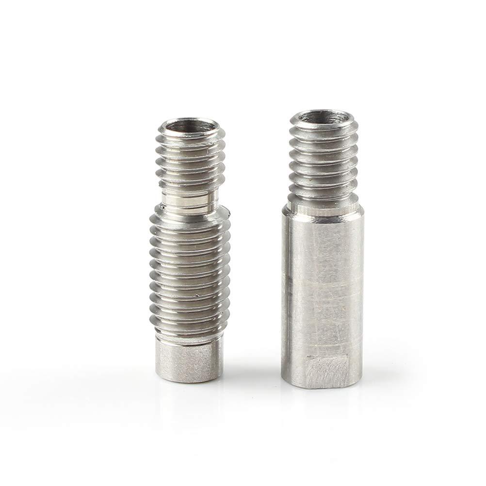 Wisvis 3D-Drucker-Kit Teile Zubeh/ör Kompatibel f/ür Artillerie 3D-Drucker Sidewinder X1 D/üse Silikonh/ülse Halsgriff Thermistor Heizrohr Heizblock Kit