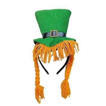 ANLW Irlandés con Capucha Cabeza Hebilla St. Patricks ...