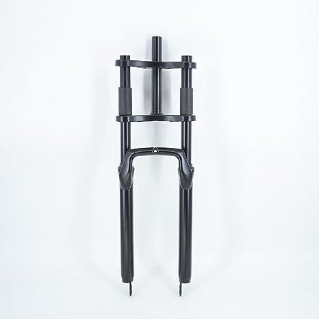 Bicicleta doble hombro horquilla de suspensión – grasa acero doble ...