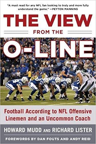 amazon the view from the o line football according to nfl