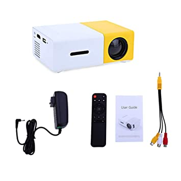 Proyector Led, 600 Lumen 3.5mm Audio 320x240 Píxeles Hdmi USB Mini ...
