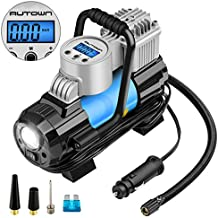【NEW ARRIVAL】AUTOWN Air Compressor Pump,150 PSI 12V Digital Tire Inflator with 4 Display Units,Auto Shut-off for Overheat Protection