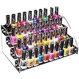 Yosoo x 170/4/5/6 niveles para Perspex transparente venta esmalte de uñas barniz acrílico soporte de exhibición (para 30-60 b