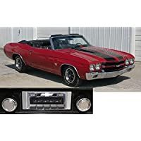 1969-1972 Chevelle Malibu USA-630 II High Power 300 watt AM FM Car Stereo/Radio with iPod Docking Cable