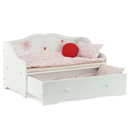 Amazoncom 18 Inch Doll Bed 18 Daybed And Trundle Bed Fits