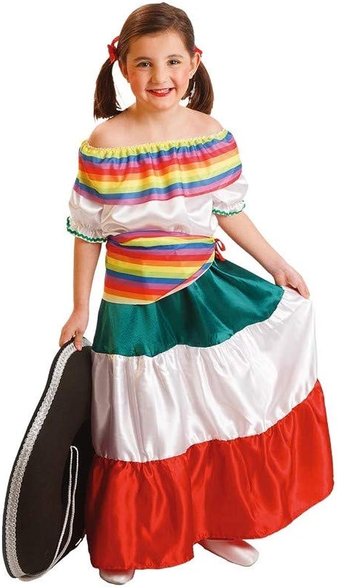 El Rey del Carnaval - Disfraz mejicana talla 0-2 años: Amazon.es ...