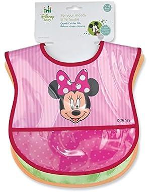 Minnie Mouse Deluxe Crumbcatcher Baby Bib