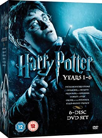 Harry Potter 1-6 [DVD] by Daniel Radcliffe: Amazon.es: Daniel ...