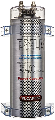 PYLE PLCAPE50 5.0 Farad Digital Power Capacitor