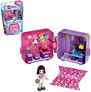 LEGO Friends Emma's Shopping Play Cube 41409 Building Kit, Includes a Collectible Mini-Doll, for Imaginative P