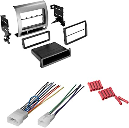2011 toyota tacoma wiring harness amazon com cach   kit15 bundle with car stereo installation kit  cach   kit15 bundle with car stereo