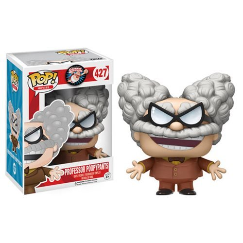 Funko POP Movies Captain Underpants Professor Poopypants Action Figure (French Movie Priceless)