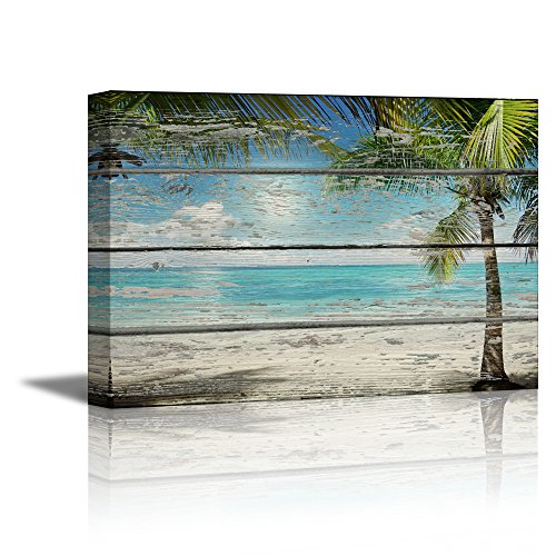 Unique Palm Tree Canvas Wall Art: Amazon.com LC93