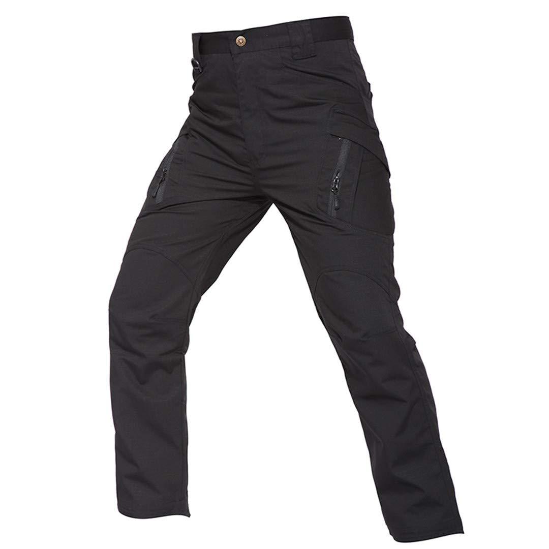 noir XXL Drying Den Pantalon de randonnée en Plein air pour Hommes Pantalon voiturego en Tissu Checker Pantalon voiturego Pantalon de Chasse Militaire