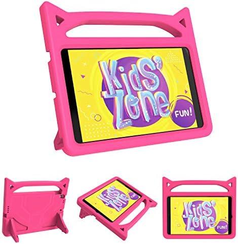 [해외]New iPad 10.2 2019 Kids Case DJ&RPPQ iPad 7th Generation Kids Friendly CasesHandle Stand Light Weight Shock Proof Covers for Apple iPad 10.2 inch Latest Model - Rose / New iPad 10.2 2019 Kids Case DJ&RPPQ iPad 7th Generation Kids F...
