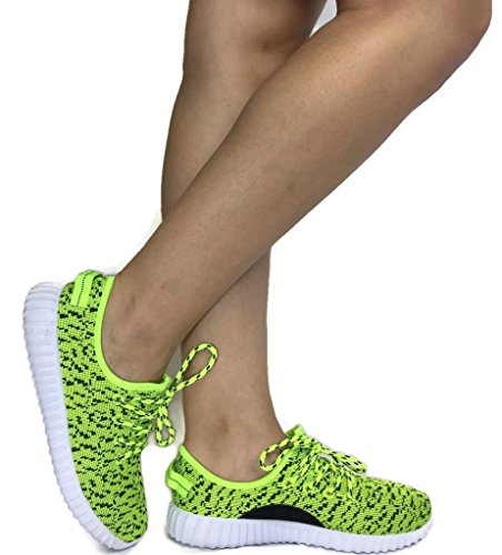 the-collection-jill-womens-athletic-shoes-casual-fashion-breathable-sports-sneakers-neon-yellow-7