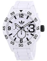 Adidas adh2860 47mm Nylon Case White Silicone Plastic Women's Watch