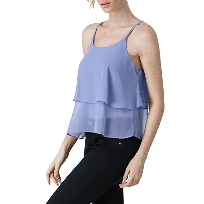 FAMILIZO Camisetas Sin Mangas Mujer Camisetas Mujer Fiesta Elegante Camisetas Verano Blusa Mujer Fiesta Elegante Tops
