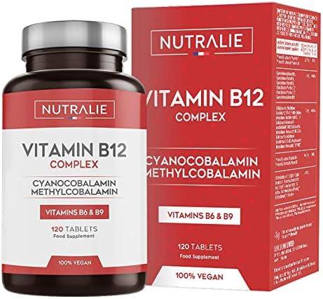 Vitamina B12 Vegana 2000mcg Cianocobalamina