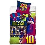 Official Lionel Messi & FC Barcelona Single Duvet