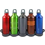 Reduce WaterWeek 5-Pack Aluminum 16-Ounce Sport Bottles with Refrigerator Tray